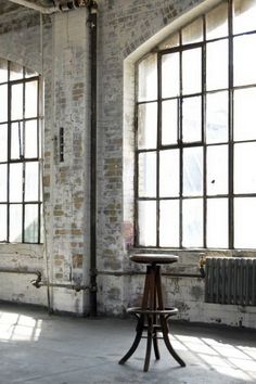 I want my next home to be an old factory. Seriously. Already told my hubby.