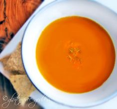 Pumpkin-Sweet Potato Soup #glutenfree #vegan