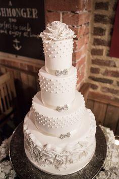 Beautiful #weddingcake at this #orange #uplighting #wedding #reception ! #diy #diywedding #weddingideas #weddinginspiration #ideas #inspiration #rentmywedding #celebration #party #weddingplanner #weddingplanning #eventplanner #dreamwedding By #ElizabethsCakeEmporium