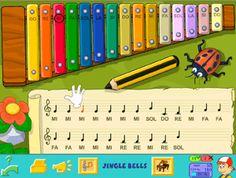 El xilófono- Juego de música para Primer ciclo de Primaria #musica #aprender #Primaria #Infantil #niños #educación