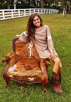Latte Southern Belle Dress-