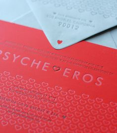 wonderful site for business card and letterpress inspiration