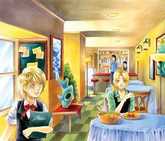 Check out our art of the week, done with Copic Markers. Supittha Bunyapen, aka ecthelian on DeviantArt, is a master of this particular medium, and you can learn her favorite tricks and tips from her book, Shojo Wonder Manga Art School. You can even learn how to draw this scene!