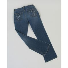 Painter's Jeans~Supplies Needed  •Craft Bond Fabric & Paper Glue  • Painters Fine Point Paint Markers: Black and Metallic Silver   • Pair of Jeans with back pockets   • Twenty-four 3mm clear acrylic rhinestones   • Misc.: scrap paper, scissors, pencil, scrap cardboard and toothpick