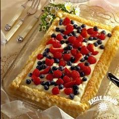 Lime-Filled Pastry with Mixed Berries from Eagle Brand®