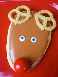 Reindeer Sugar Cookie