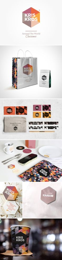love the general design, not so much the color scheme... KrisKros branding by WonderEight.
