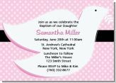 This is a different style for an invitation but very cute and fun way to announce your child's baptism or christening :)