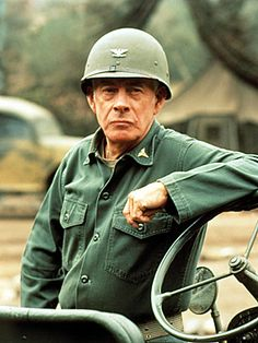 HARRY MORGAN  @ 96  COL. SHERMAN T. POTTER OF   M*A*S*H  also WAS IN DRAGNET IN '67