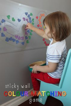 Sticky Wall Colour Matching Game