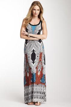#Maxi Tank #Dress on #HauteLook #KarenKane