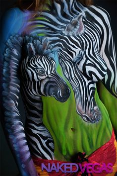It's a jungle out there. Join Naked Vegas as we canvas the strip with amazing body art on Tuesdays at 10/9c. Only on Syfy. Art by Heather Aguilera
