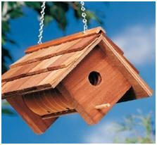 Help yourself to any of 396 free do-it-yourself backyard project plans and how-to guides. Photo:  DIY Bird House Plans from BirdsAndBlooms.com