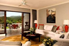 Mirador is a one-bedroom Great House #Villa at the #TryallClub. #Jamaica