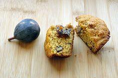 Fig corn muffins