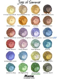 Joys of Summer Minerals by Meow Cosmetics