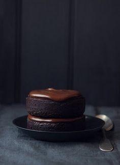 Individual Chocolate Mud Cakes
