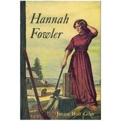 Hannah Fowler by Janice Holt Giles, http://www.amazon.com/dp/B002T6LVEC/ref=cm_sw_r_pi_dp_-Ak8qb12RSP7Z