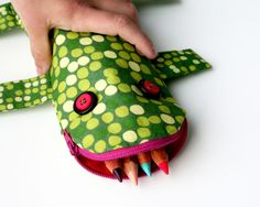 another pencil case moster @lightbluegrey