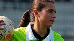 Elena Tambini dirige partidos de ligas menores en Italia. | El sueño de la chica es dirigir partidos en la Serie A.