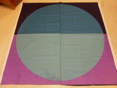 "Marimekko, Finland: Maija Isola ""Viitta"" Unused Fabric from 2003 - 1 repeat #Marimekko #Circle"