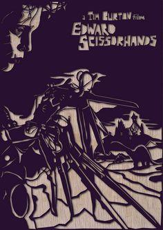 Edward Scissorhands!  (By heartstrand.co.uk)