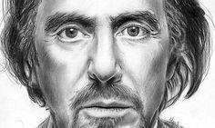 Al Pacino Pencil Art