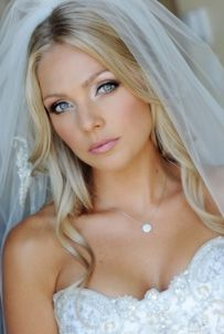 Bridal Makeup, accentuating the eyes  love this!