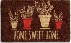 Welcome Coir Doormat...
