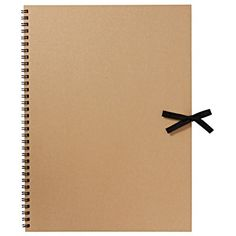 "RECYCLED PAPER CRAFT SKETCH BOOK - F4 Made of Recycled Paper Size: 33 x 24 cm (13.2 x 9.6"")"