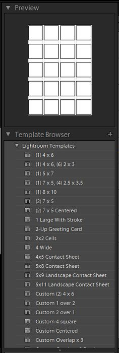 Quick tutorial on how to create and export contact sheets in lightroom 4
