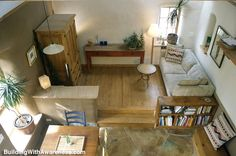 Small living spaces.