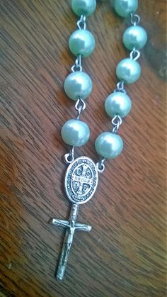 St Benedict Chaplet by PerseveranceRoad on Etsy