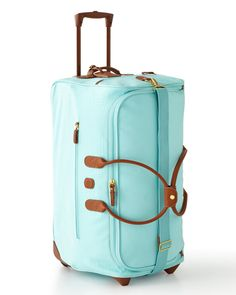 """We really need a nice, matching luggage set. I love this """"Esmerelda"""" one from Horchow!"""