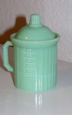 Vintage Jadeite Measuring Cup by CleverGirlVintage on Etsy, $40.00