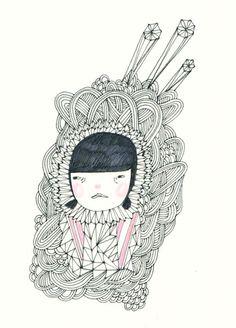 art illustrations, nanci mungcal