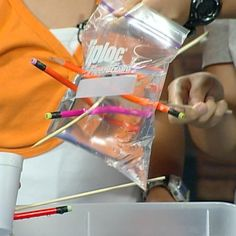 The Leak-Proof Bag - great scientific method experiment