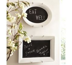 DIY Chalkboard Platter for Kitchen