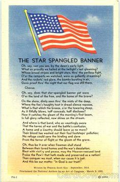 The Star Spangled Banner - National Anthem