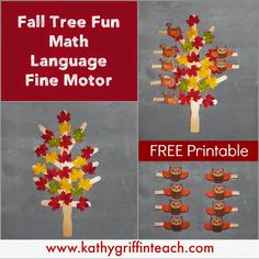 Kathy Griffin's Teaching Strategies: Fall Leaves Activities for Teaching