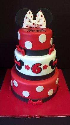minnie cake @Lauren Davison Davison Blaess perhaps even your mother would eat this cake!