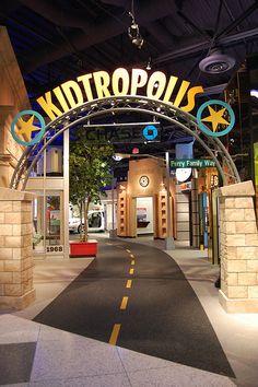 Kidtropolis at the Children's Museum of Houston