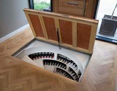 cellar hatches on pinterest basement stairs spirals and glass doors