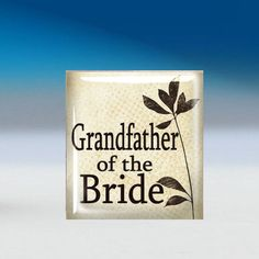 GrandFather of the Bride Tie Tack - $6.99. http://www.bellechic.com/products/3874010adc/grandfather-of-the-bride-tie-tack