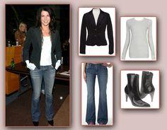 Lauren Graham jeans