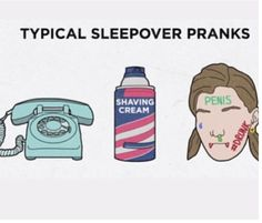 Girl code for sleepovers