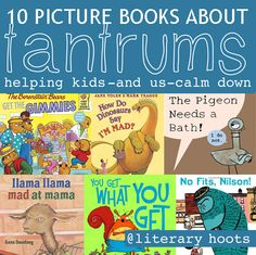 10 Picture Books for the Tantrum Thrower