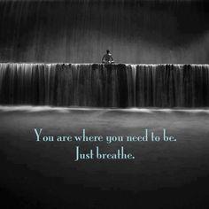 Just breathe.  Ki breathing in Las Vegas at Ki Aikido Las Vegas.