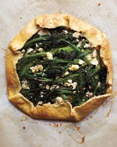 Broccolini and Feta Galette - Martha Stewart