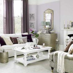 Purple Living Room :)
